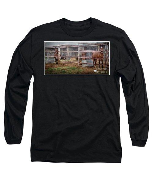 Equine Feline Long Sleeve T-Shirt