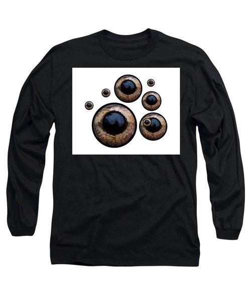 Eyes Have It White Long Sleeve T-Shirt