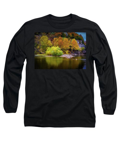 Fall Colors Of The Ozarks Long Sleeve T-Shirt