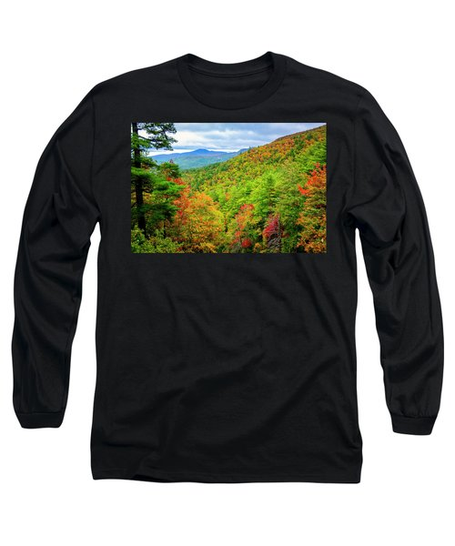 Long Sleeve T-Shirt featuring the photograph Fall In The Smokies by Andy Crawford