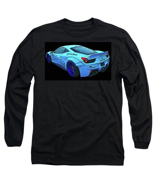 Ferrari 458 Liberty Walk Long Sleeve T-Shirt