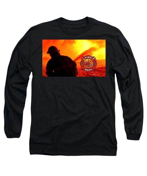 Fire Fighting 6 Long Sleeve T-Shirt