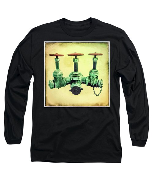 Floating Water Pipes Long Sleeve T-Shirt