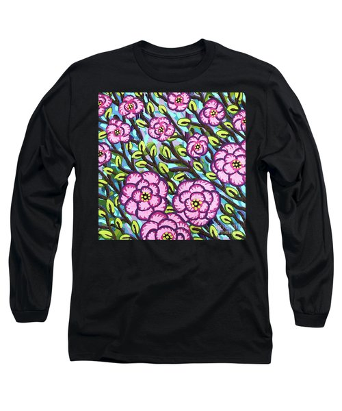 Floral Whimsy 3 Long Sleeve T-Shirt