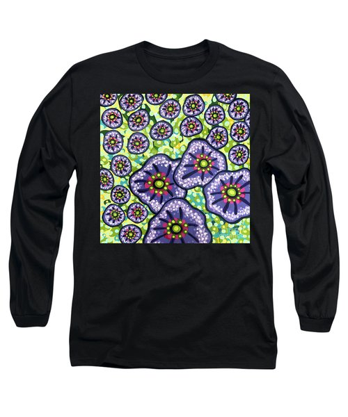 Floral Whimsy 4 Long Sleeve T-Shirt