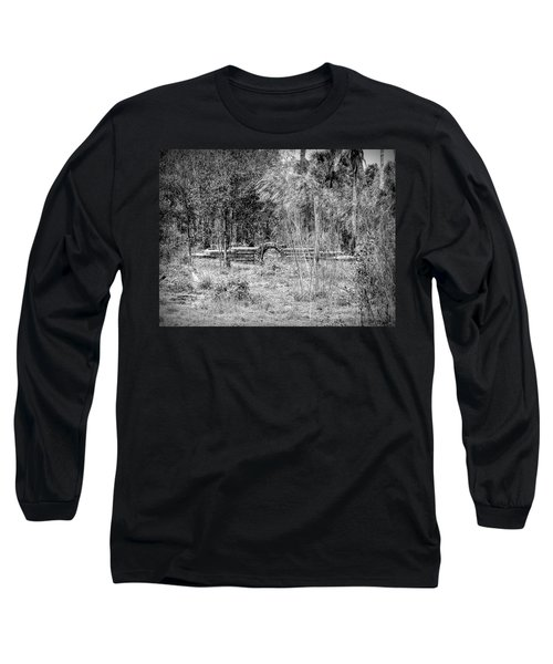 Footbridge To Nowhere Long Sleeve T-Shirt