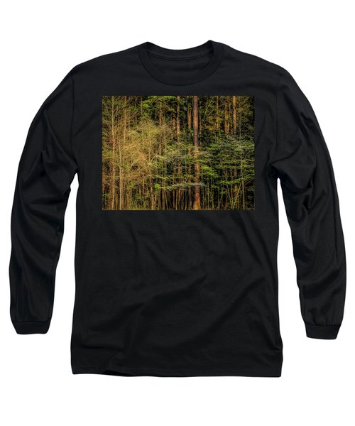 Forest Dogwood Long Sleeve T-Shirt