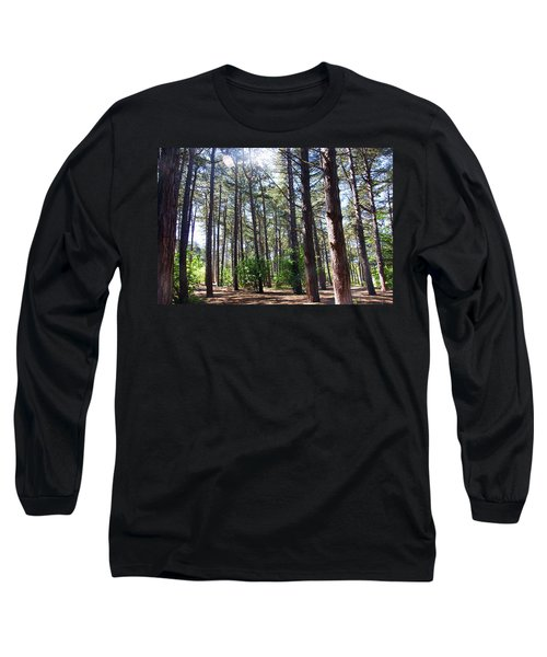 Formby. Woodland By The Coast Long Sleeve T-Shirt