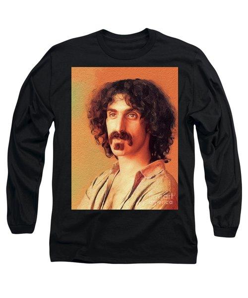 Frank Zappa, Music Legend Long Sleeve T-Shirt