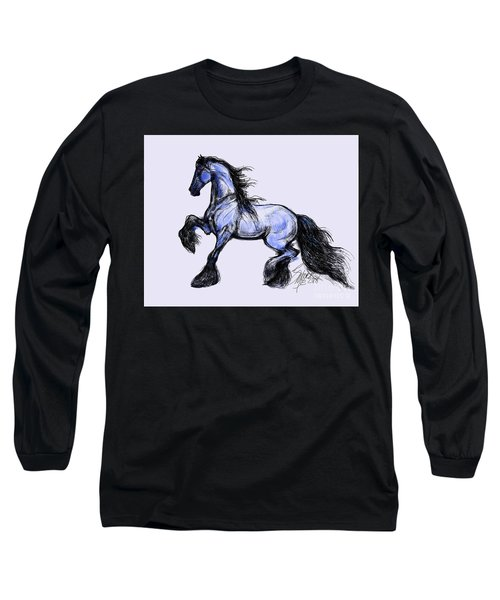 Friesian Mare Long Sleeve T-Shirt