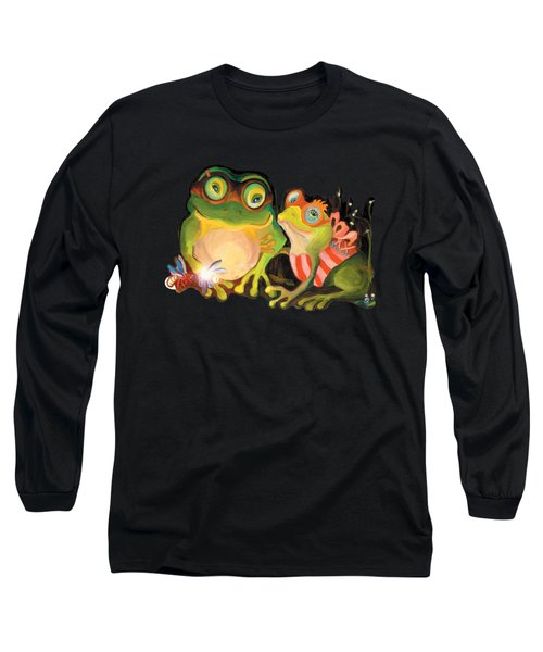 Frogs Overlay  Long Sleeve T-Shirt