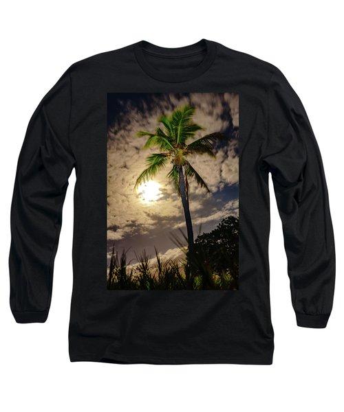 Full Moon Palm Long Sleeve T-Shirt