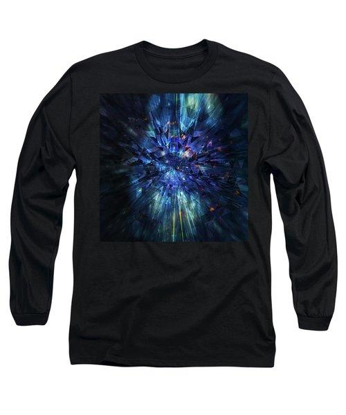 Galactic Crystal Long Sleeve T-Shirt