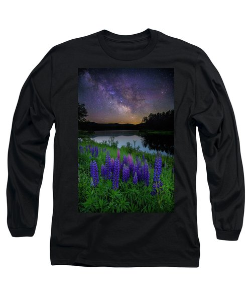 Galactic Lupines Long Sleeve T-Shirt