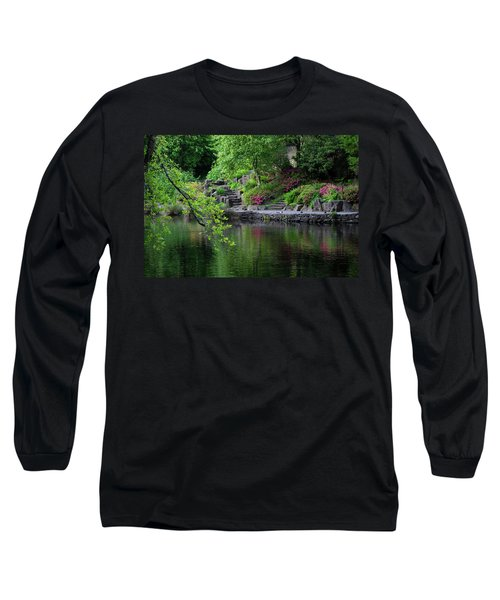Garden Reflections Long Sleeve T-Shirt