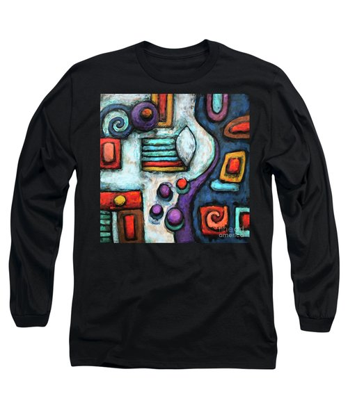 Geometric Abstract 5 Long Sleeve T-Shirt