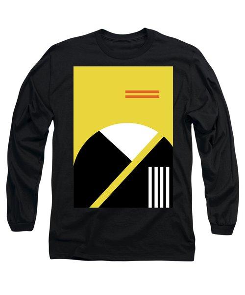 Geometric Painting 5 Long Sleeve T-Shirt