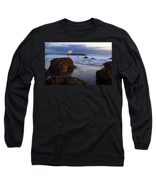 Giant Egret Long Sleeve T-Shirt
