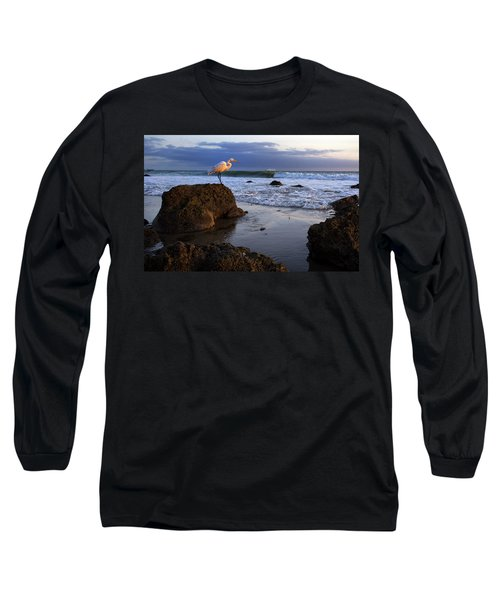 Giant Egret Long Sleeve T-Shirt