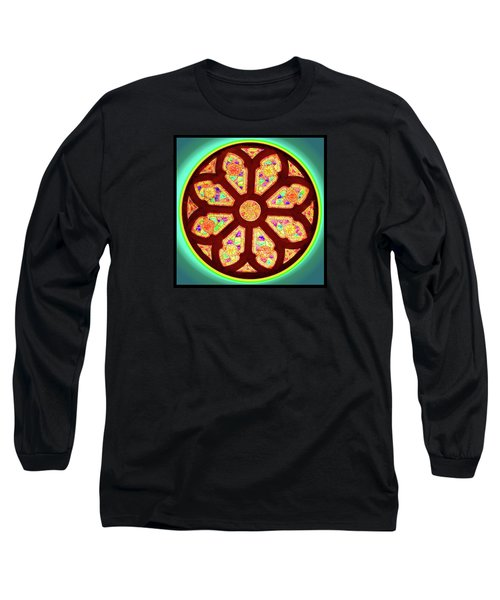 Glowing Rosette Long Sleeve T-Shirt