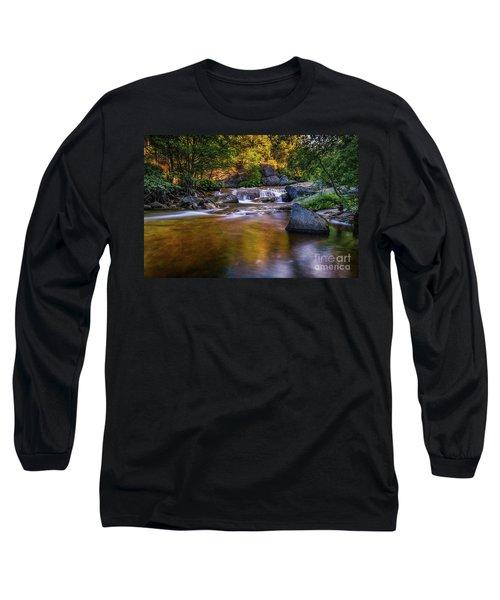 Golden Calm Long Sleeve T-Shirt