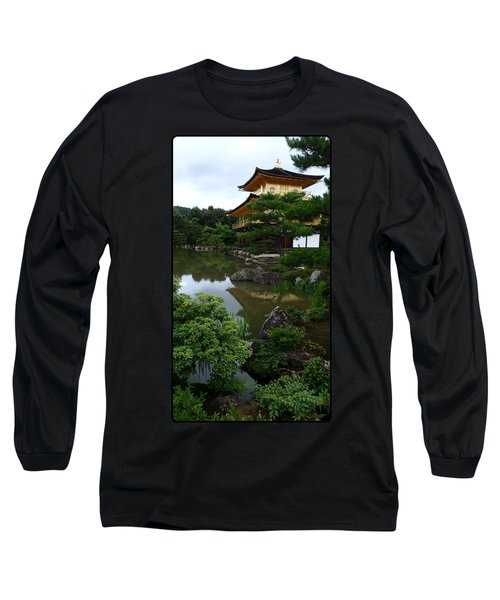 Golden Pavilion-kyoto Long Sleeve T-Shirt