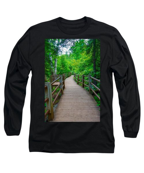 Gooseberry River Trail Long Sleeve T-Shirt