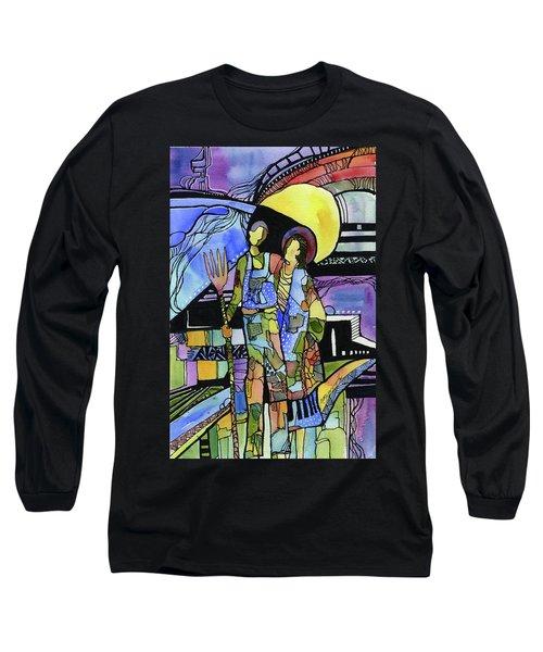 Gothic Friends Long Sleeve T-Shirt