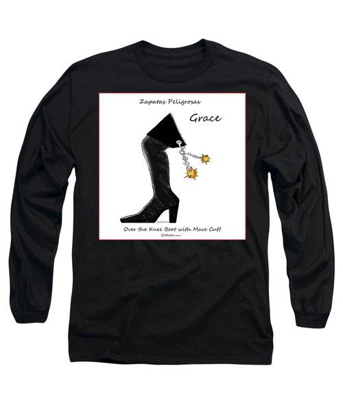 Grace Wall Art Long Sleeve T-Shirt