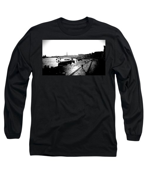 Grand Canal At Sunset Long Sleeve T-Shirt