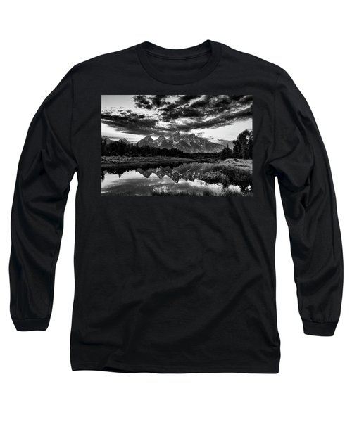 Grand Tetons, Wyoming Long Sleeve T-Shirt