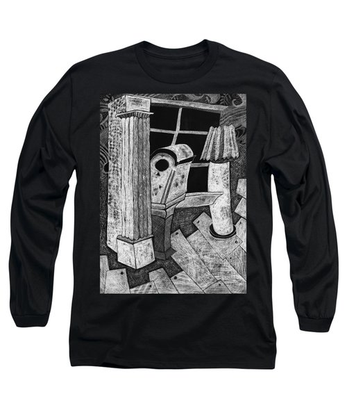 Grandfather Clock Long Sleeve T-Shirt