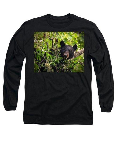 Great Smoky Mountains Bear - Black Bear Long Sleeve T-Shirt