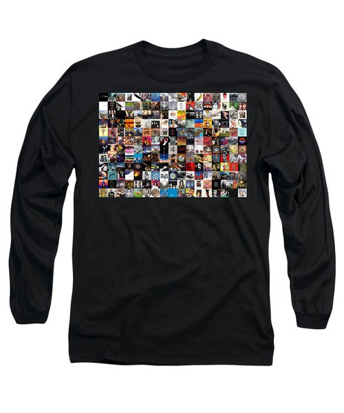 Greatest Album Covers Of All Time Long Sleeve T-Shirt