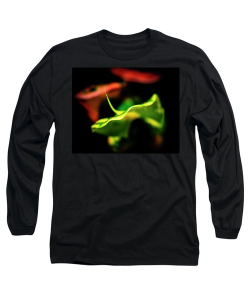 Green Croton Long Sleeve T-Shirt