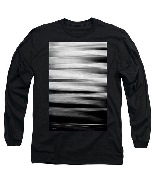 Abstract Waves Long Sleeve T-Shirt