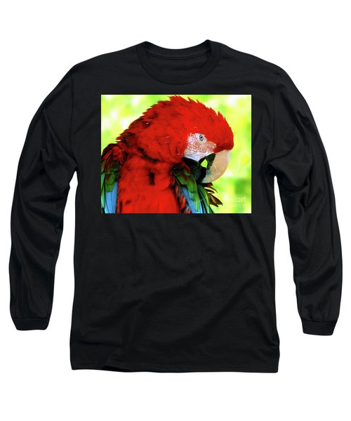 Green-winged Macaw Long Sleeve T-Shirt