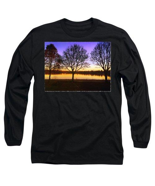 Greenlake Dawn Intensity Long Sleeve T-Shirt