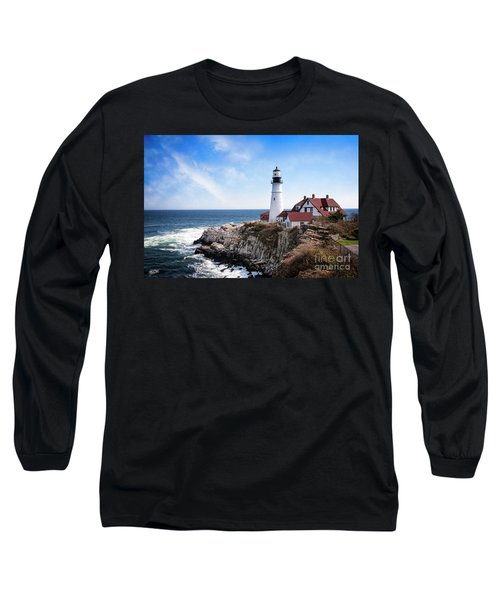Long Sleeve T-Shirt featuring the photograph Guardian Of The Sea by Scott Kemper
