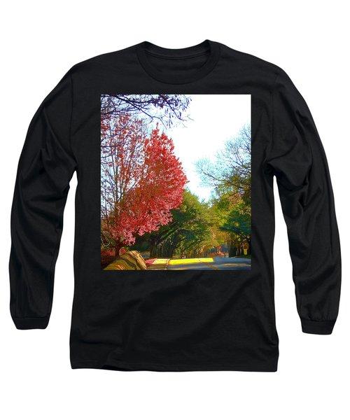 Half Full... Long Sleeve T-Shirt