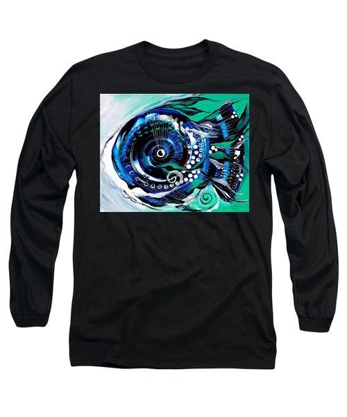 Half-smile, Break The Ice Fish Long Sleeve T-Shirt