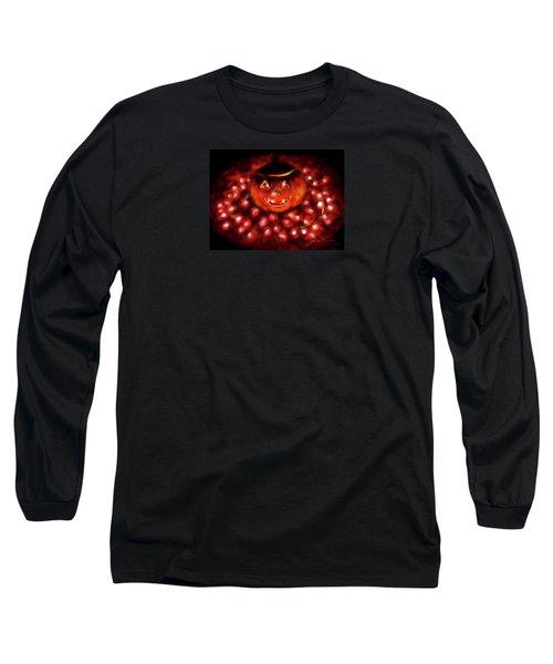 Halloween Lights Long Sleeve T-Shirt