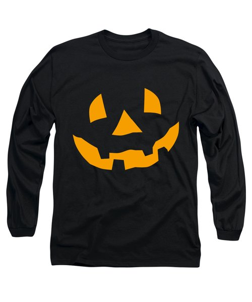 Halloween Pumpkin Tee Shirt Long Sleeve T-Shirt