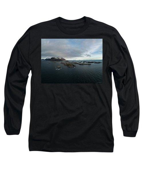 Henningsvaer Lofoten Long Sleeve T-Shirt