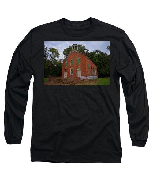Historic Church Image Long Sleeve T-Shirt