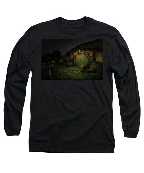 Hobbiton At Night #1 Long Sleeve T-Shirt
