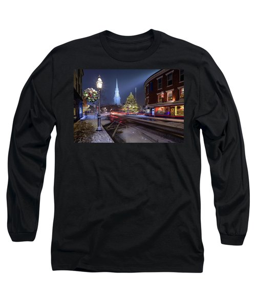 Holiday Magic, Market Square Long Sleeve T-Shirt