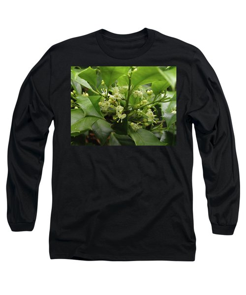Holly Blossoms Long Sleeve T-Shirt