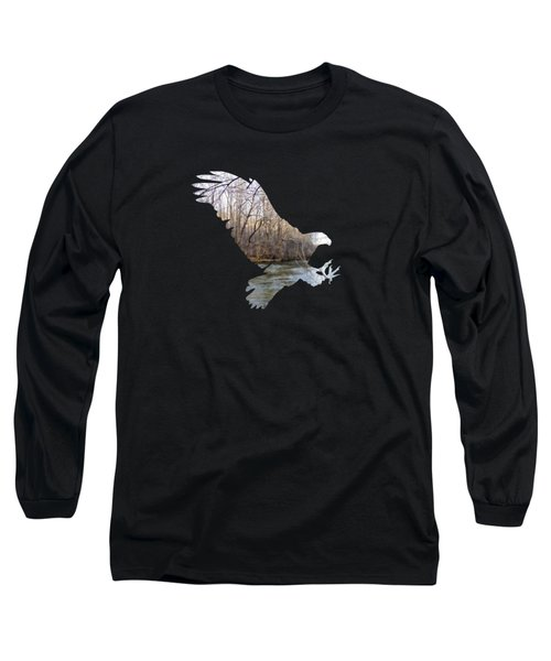 Hunting Eagle Long Sleeve T-Shirt