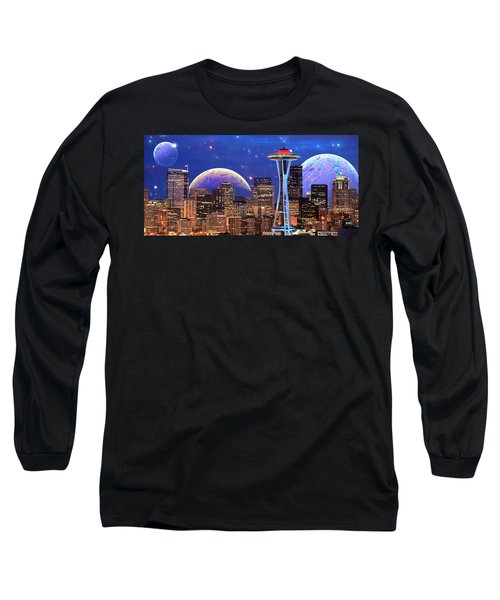 Imagine The Night Long Sleeve T-Shirt